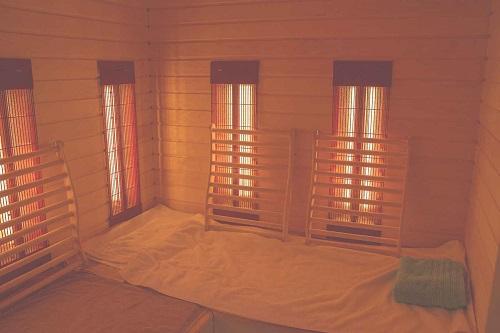 Sauna infrarouge ou sauna japonais
